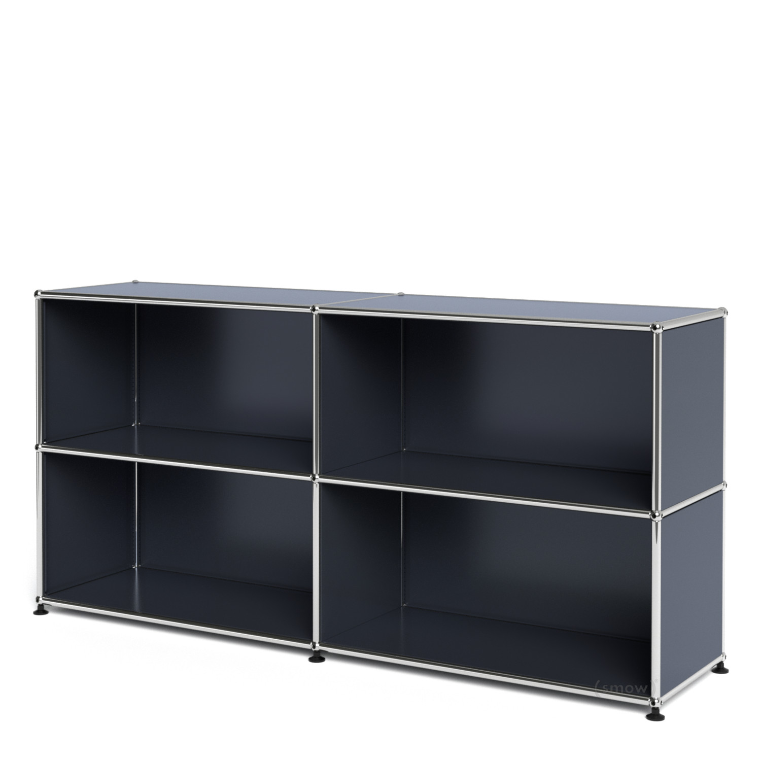 usm haller sideboard l open anthracite ral 7016 by fritz. Black Bedroom Furniture Sets. Home Design Ideas