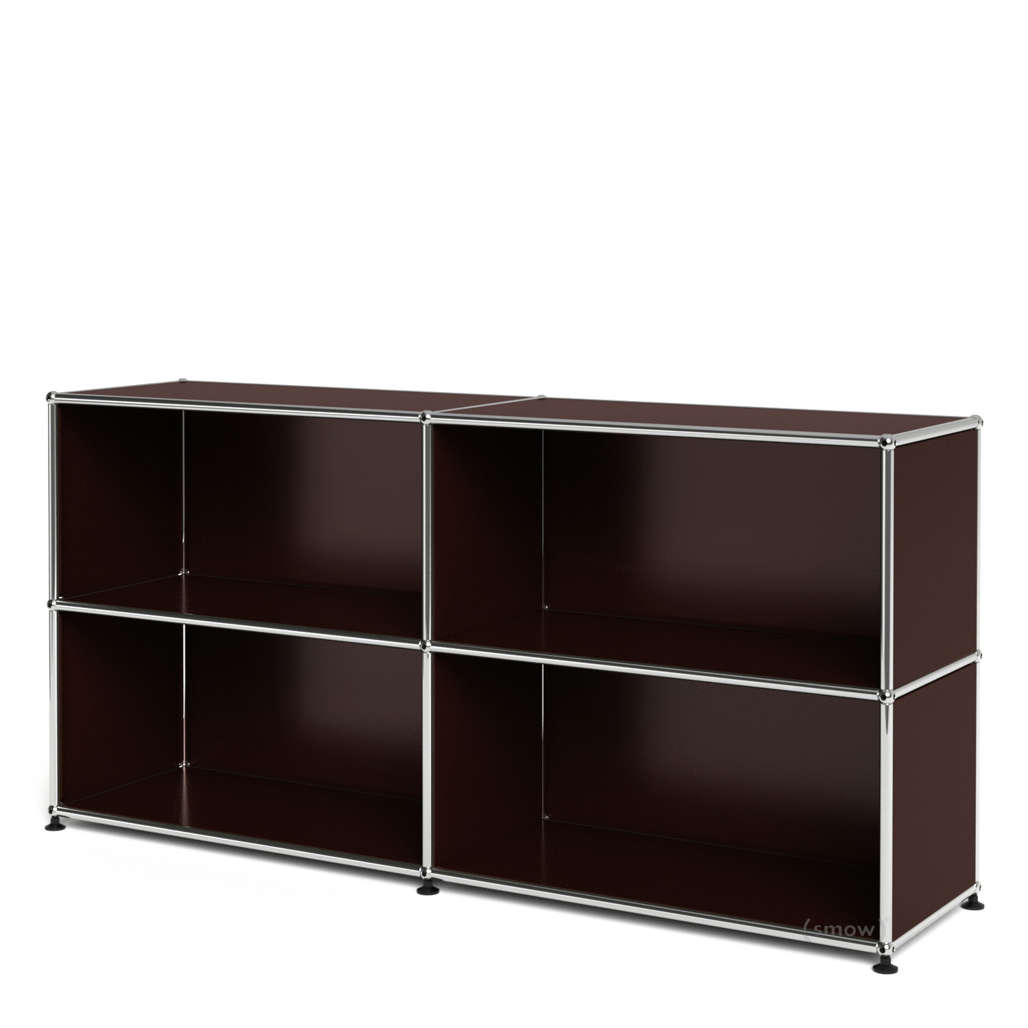 Usm haller sideboard l open usm brown by fritz haller for Sideboard usm