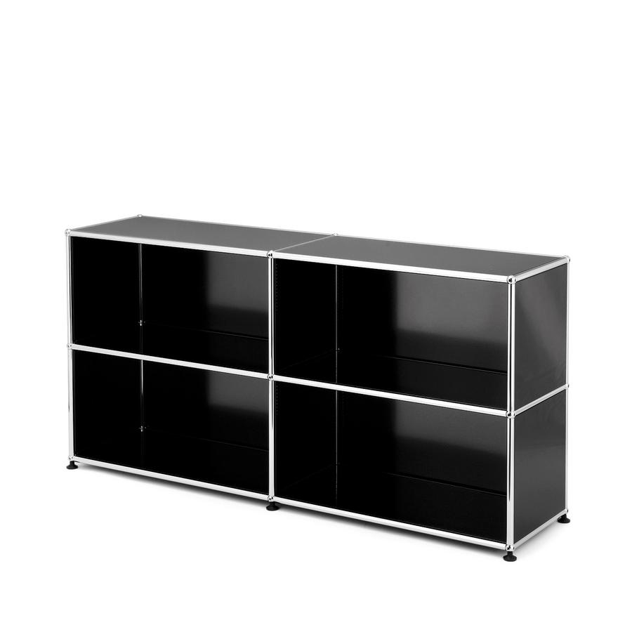 usm haller sideboard l open by fritz haller paul sch rer. Black Bedroom Furniture Sets. Home Design Ideas