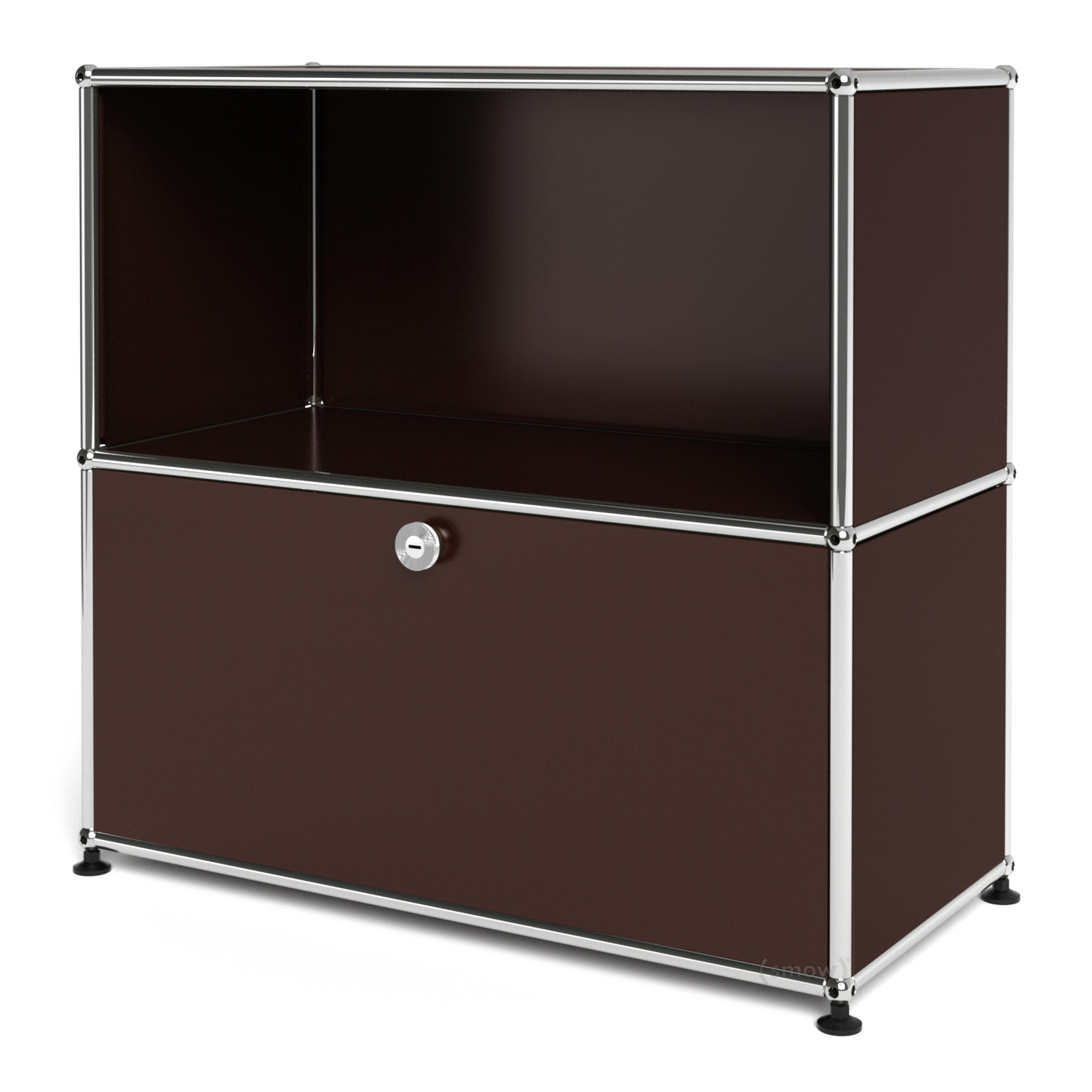 usm haller sideboard m with 1 drop down door usm brown by. Black Bedroom Furniture Sets. Home Design Ideas