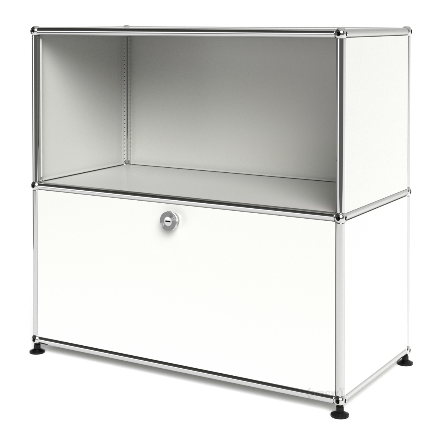 usm haller sideboard m with 1 drop down door by fritz. Black Bedroom Furniture Sets. Home Design Ideas
