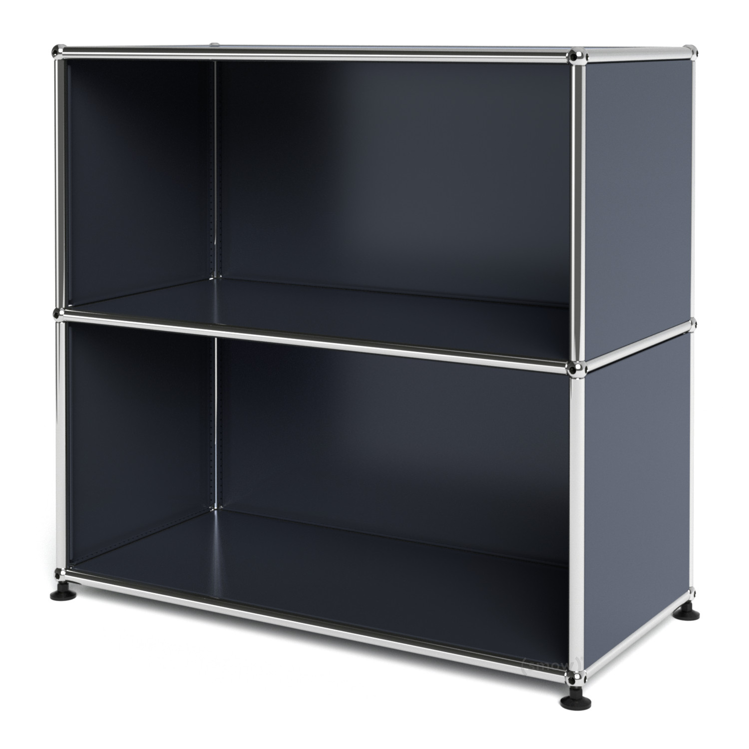 Usm haller sideboard m open anthracite ral 7016 by fritz for Sideboard usm