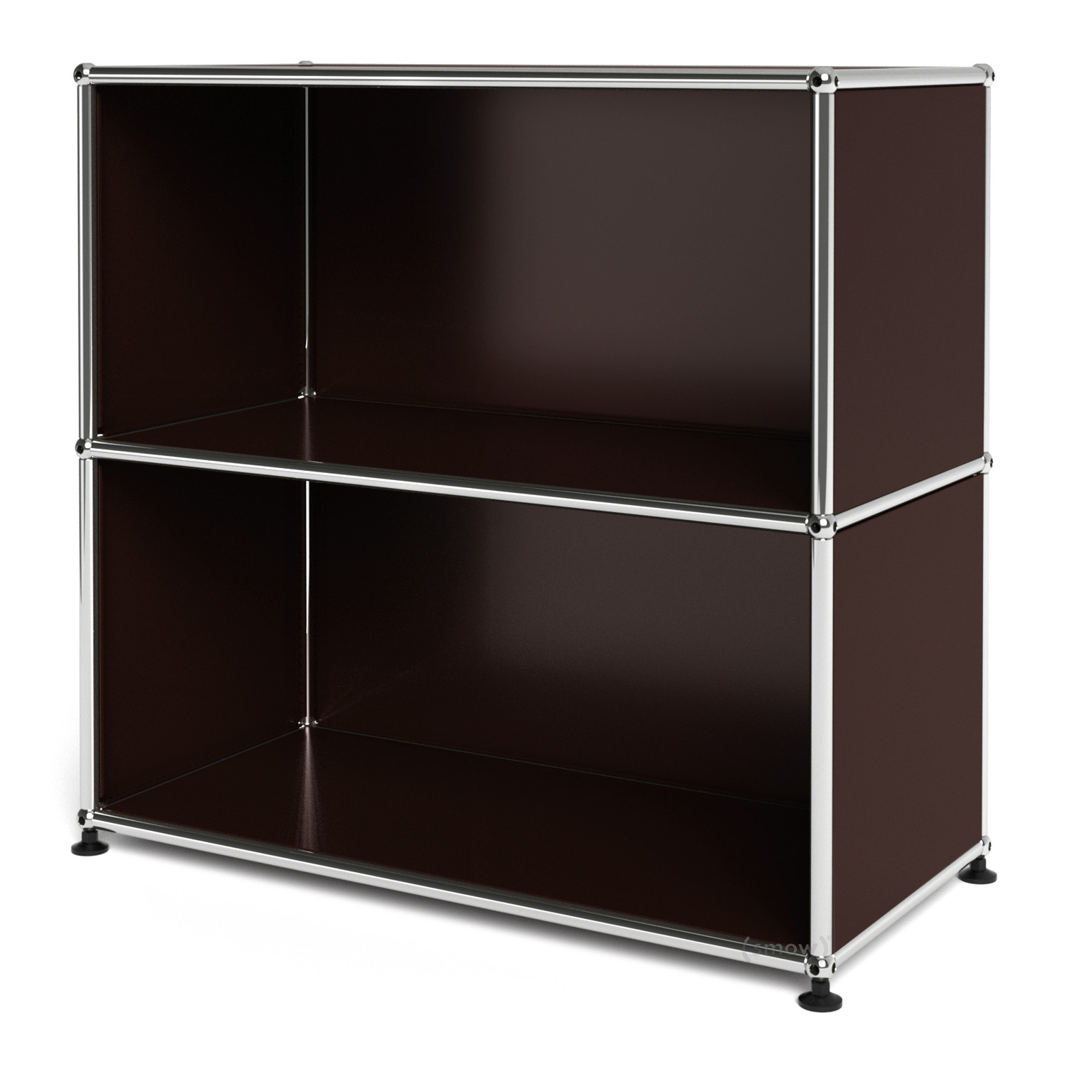 usm haller sideboard m open usm brown by fritz haller. Black Bedroom Furniture Sets. Home Design Ideas