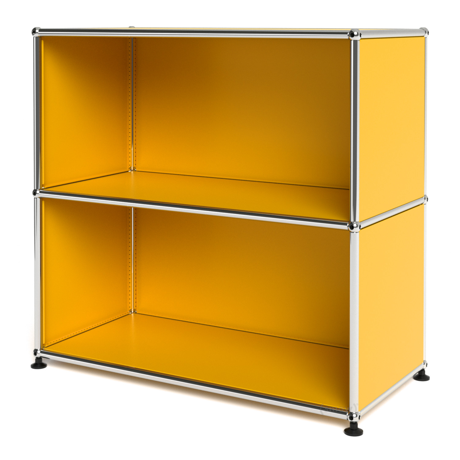 usm haller sideboard m open golden yellow ral 1004 by fritz haller paul sch rer designer. Black Bedroom Furniture Sets. Home Design Ideas