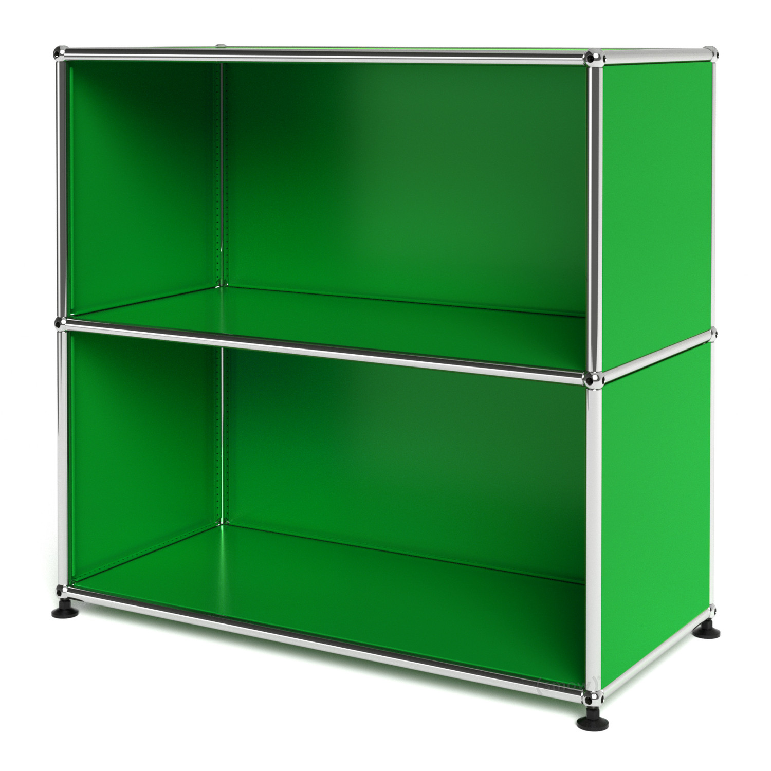 Usm haller sideboard m open usm green by fritz haller for Sideboard usm