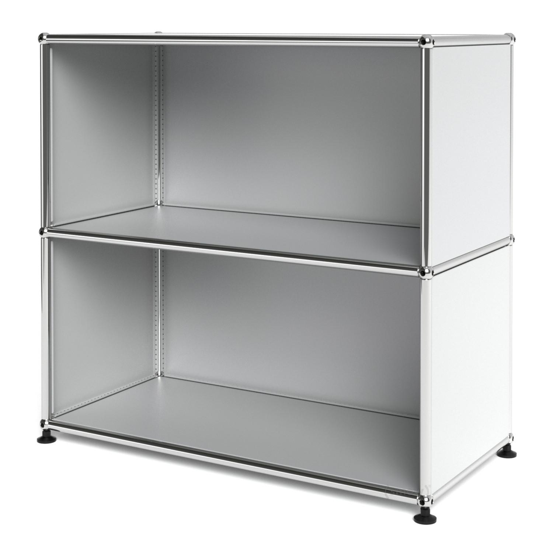 Usm haller sideboard m open usm matte silver by fritz for Sideboard usm