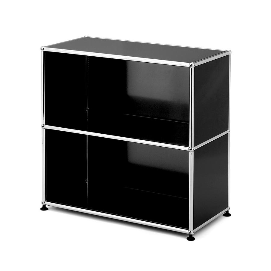 usm haller sideboard m open anthracite ral 7016 by fritz haller paul sch rer designer. Black Bedroom Furniture Sets. Home Design Ideas