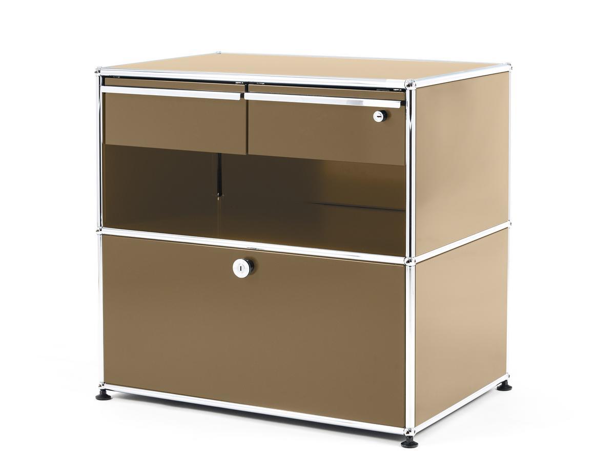 USM Haller Office Sideboard M With Drawers USM Beige