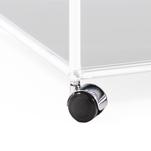 usm haller usm castor for usm haller system by usm. Black Bedroom Furniture Sets. Home Design Ideas