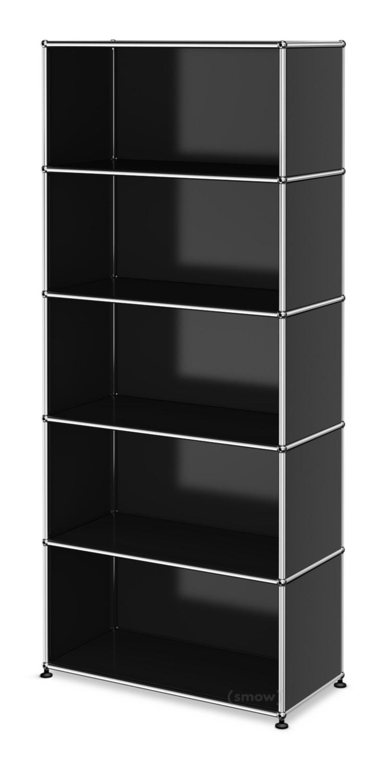 usm haller storage unit m customisable graphite black. Black Bedroom Furniture Sets. Home Design Ideas