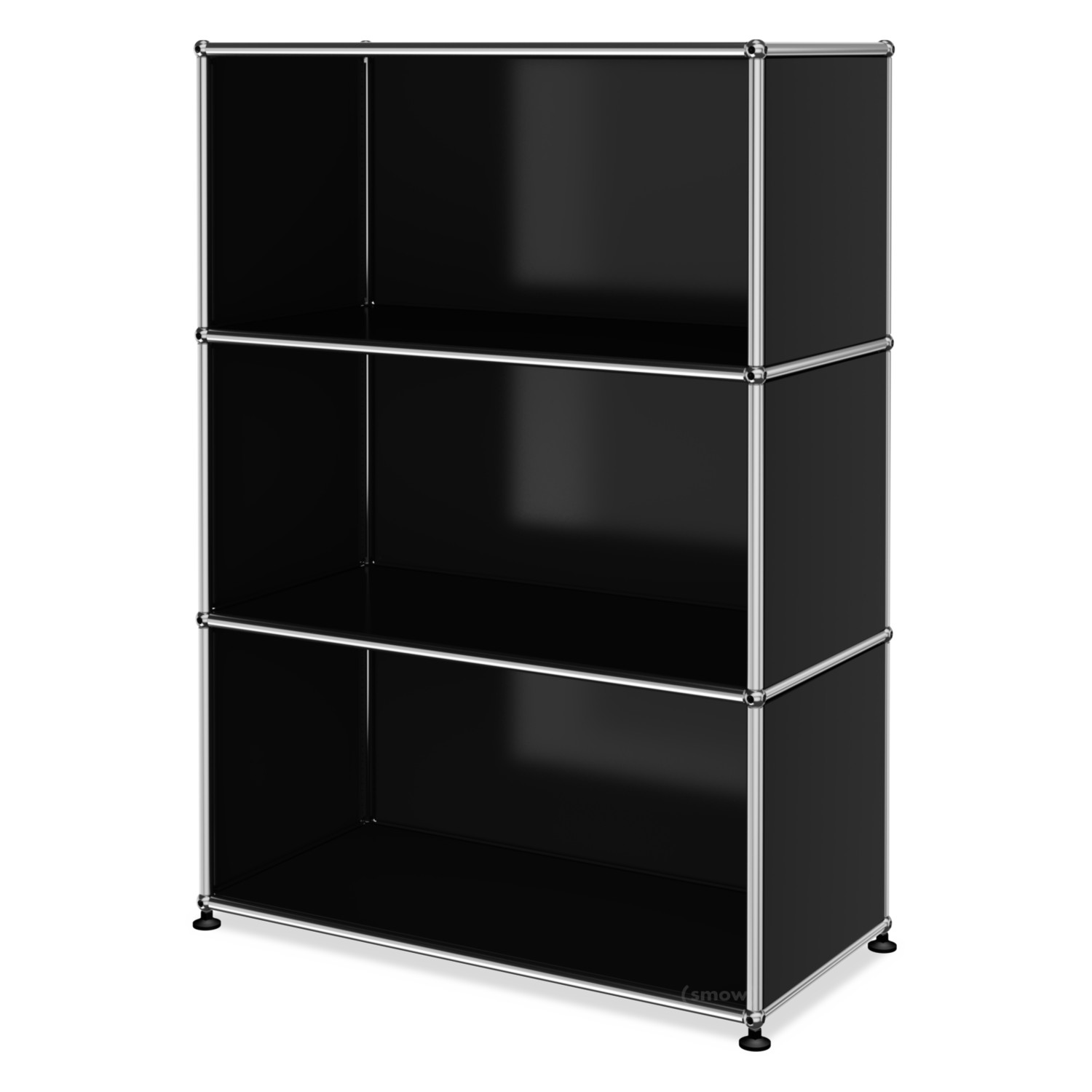 usm haller highboard m customisable graphite black ral. Black Bedroom Furniture Sets. Home Design Ideas