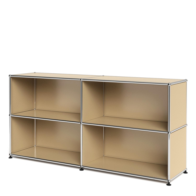 usm haller sideboard l customisable usm beige open open by fritz haller paul sch rer. Black Bedroom Furniture Sets. Home Design Ideas