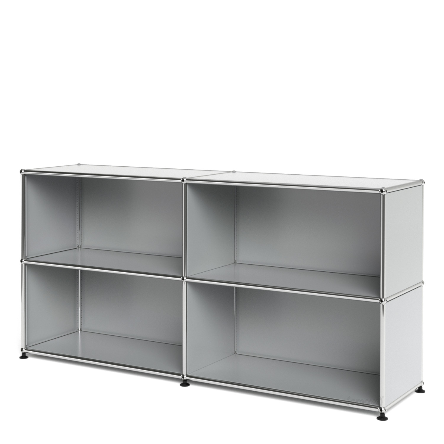usm haller sideboard l customisable light grey ral 7035 open open by fritz haller paul. Black Bedroom Furniture Sets. Home Design Ideas
