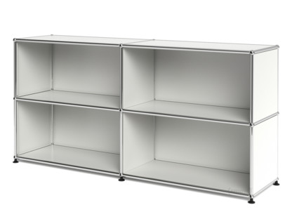 usm haller sideboard l customisable pure white ral 9010. Black Bedroom Furniture Sets. Home Design Ideas