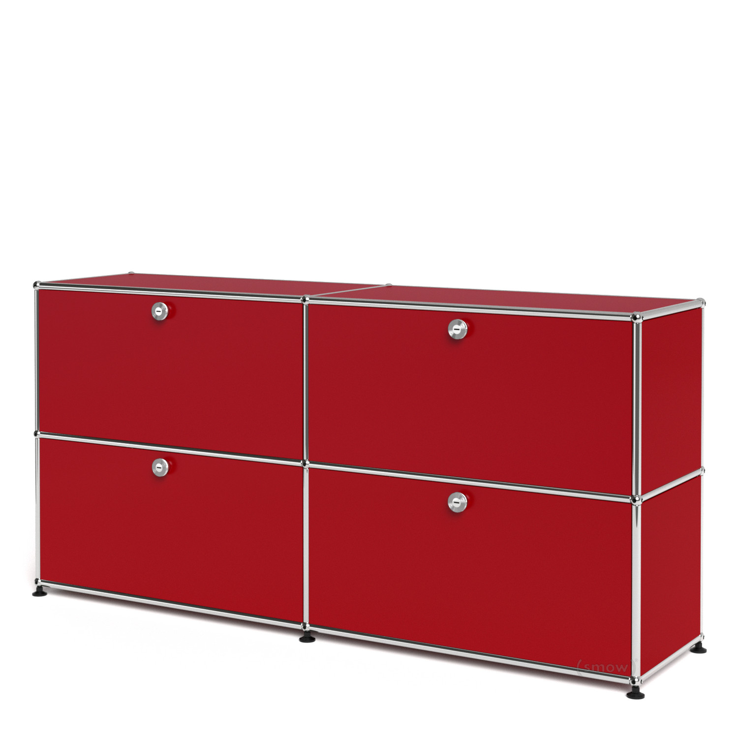 Usm haller sideboard l customisable usm ruby red with 2 for Sideboard usm