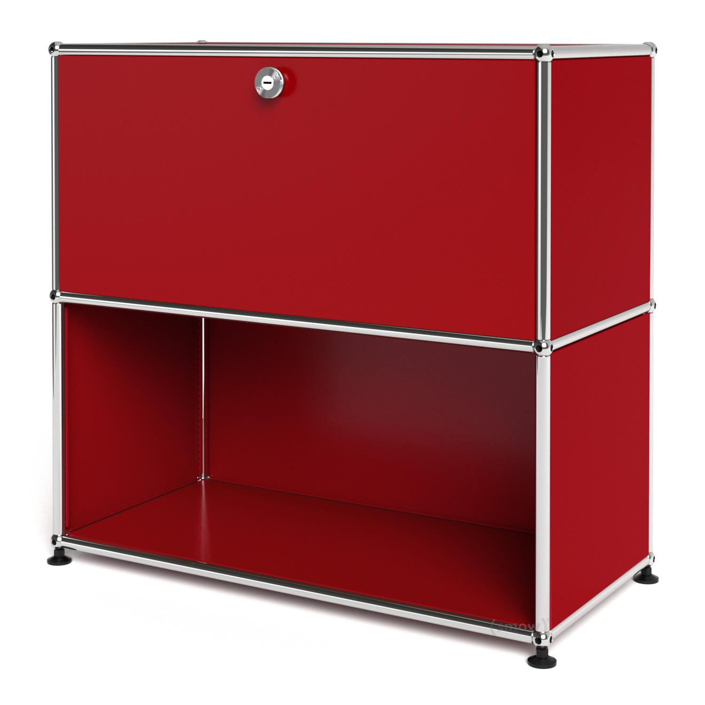 usm haller sideboard m customisable usm ruby red with. Black Bedroom Furniture Sets. Home Design Ideas
