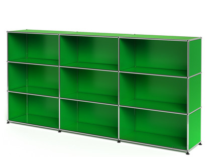 USM Haller Highboard XL, Customisable USM green Open Open Open