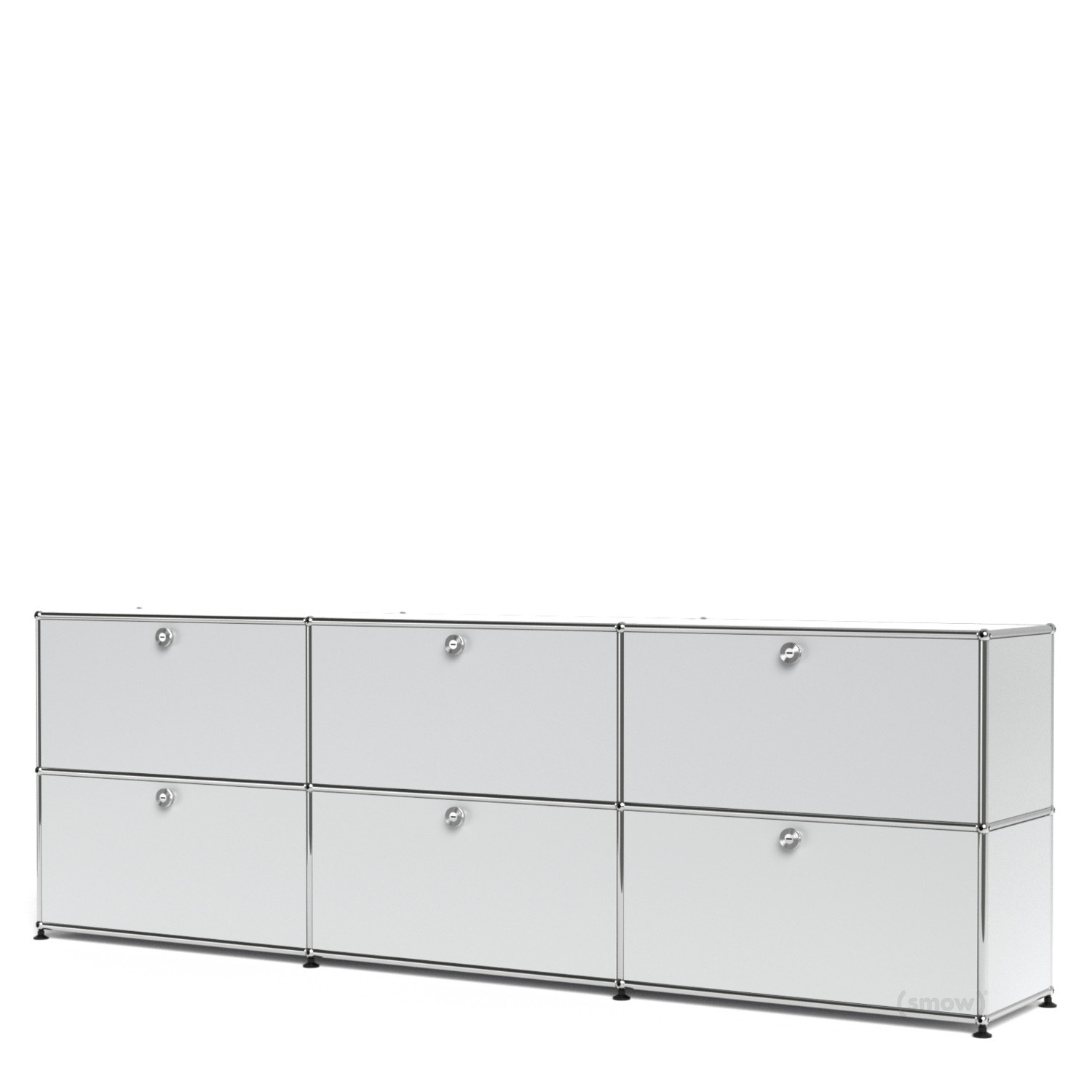 Usm haller sideboard xl customisable usm matte silver for Usm haller sideboard weiay