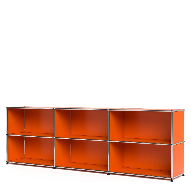 usm haller sideboard xl customisable pure orange ral. Black Bedroom Furniture Sets. Home Design Ideas