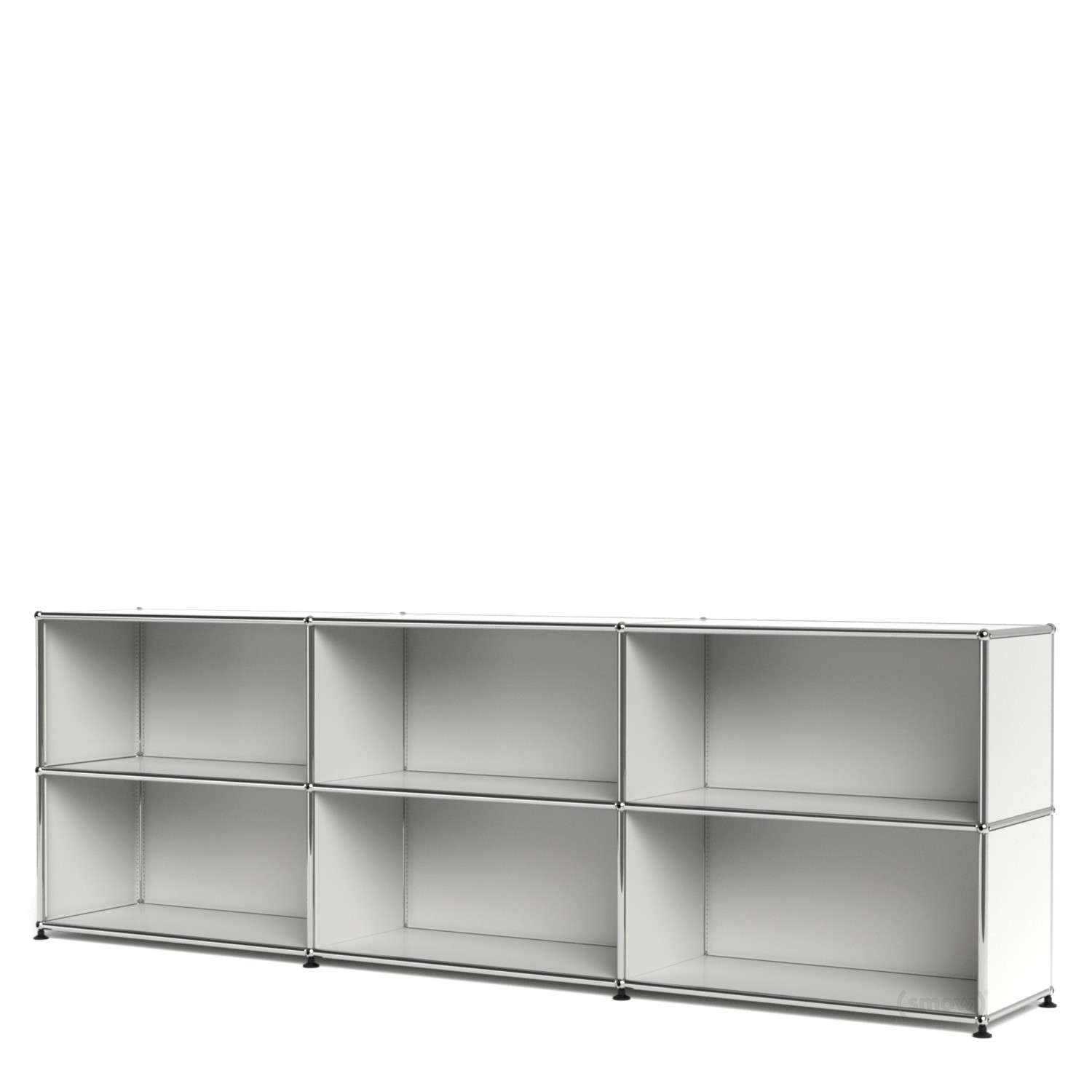 usm haller sideboard xl customisable pure white ral 9010 open open by fritz haller paul. Black Bedroom Furniture Sets. Home Design Ideas