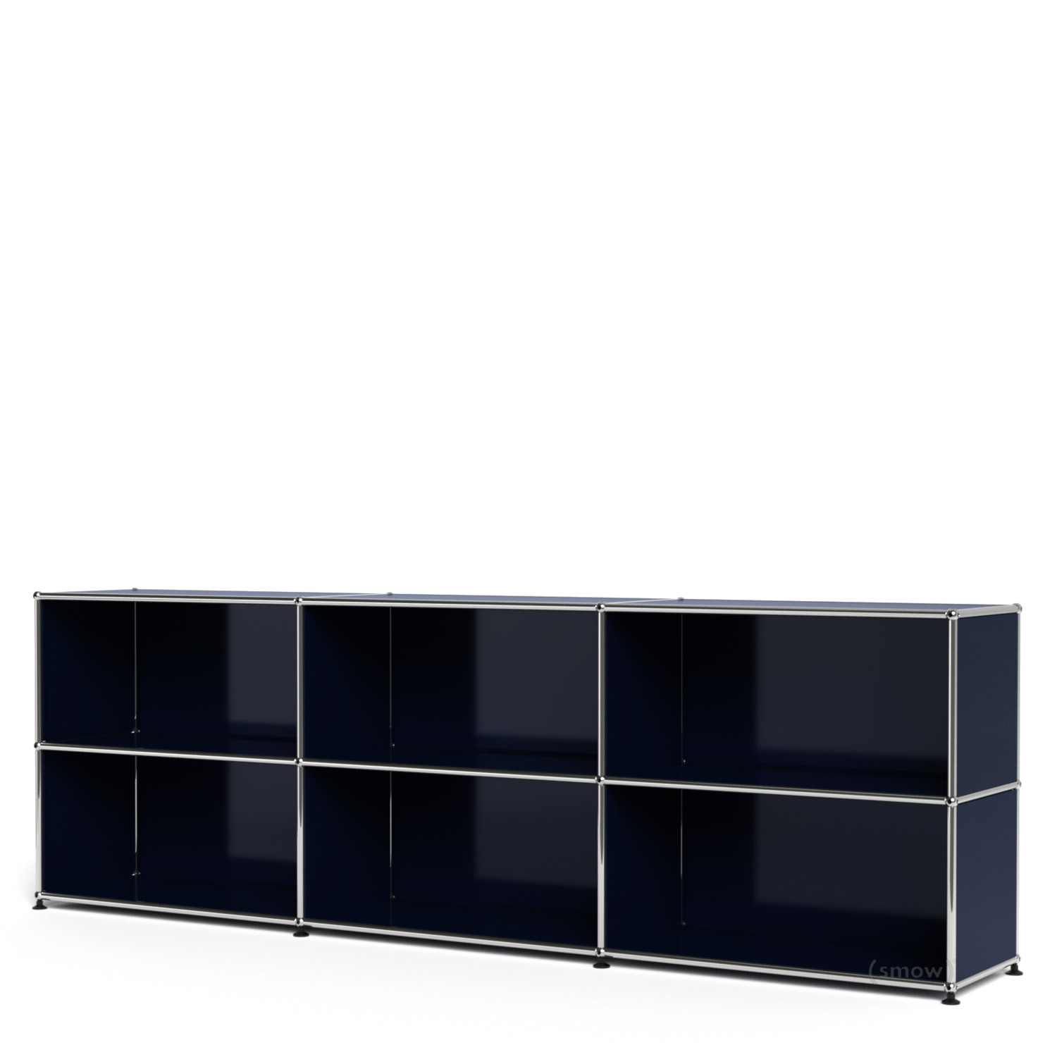 Usm haller sideboard xl customisable steel blue ral 5011 for Sideboard usm