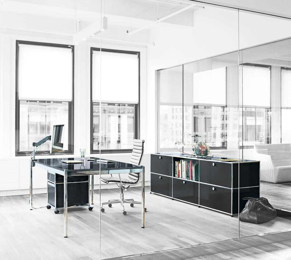 usm haller sideboard xl customisable by fritz haller paul sch rer designer furniture by. Black Bedroom Furniture Sets. Home Design Ideas