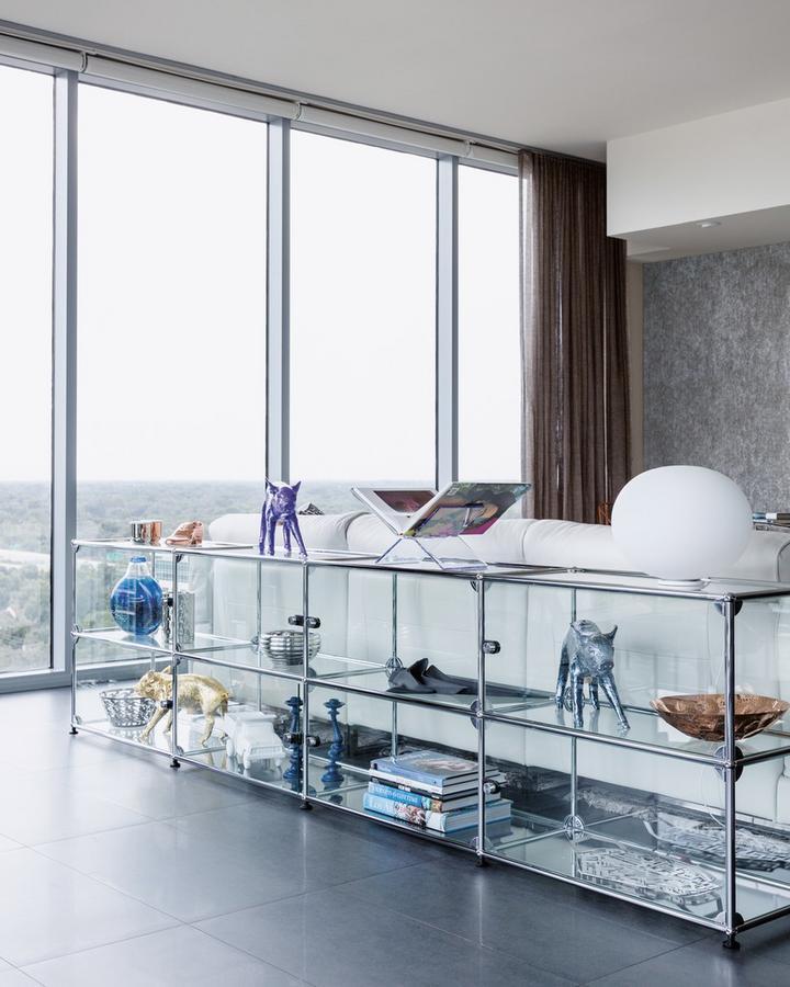 usm haller sideboard xl customisable by fritz haller paul sch rer designer furniture by. Black Bedroom Furniture Sets. Home Design Ideas