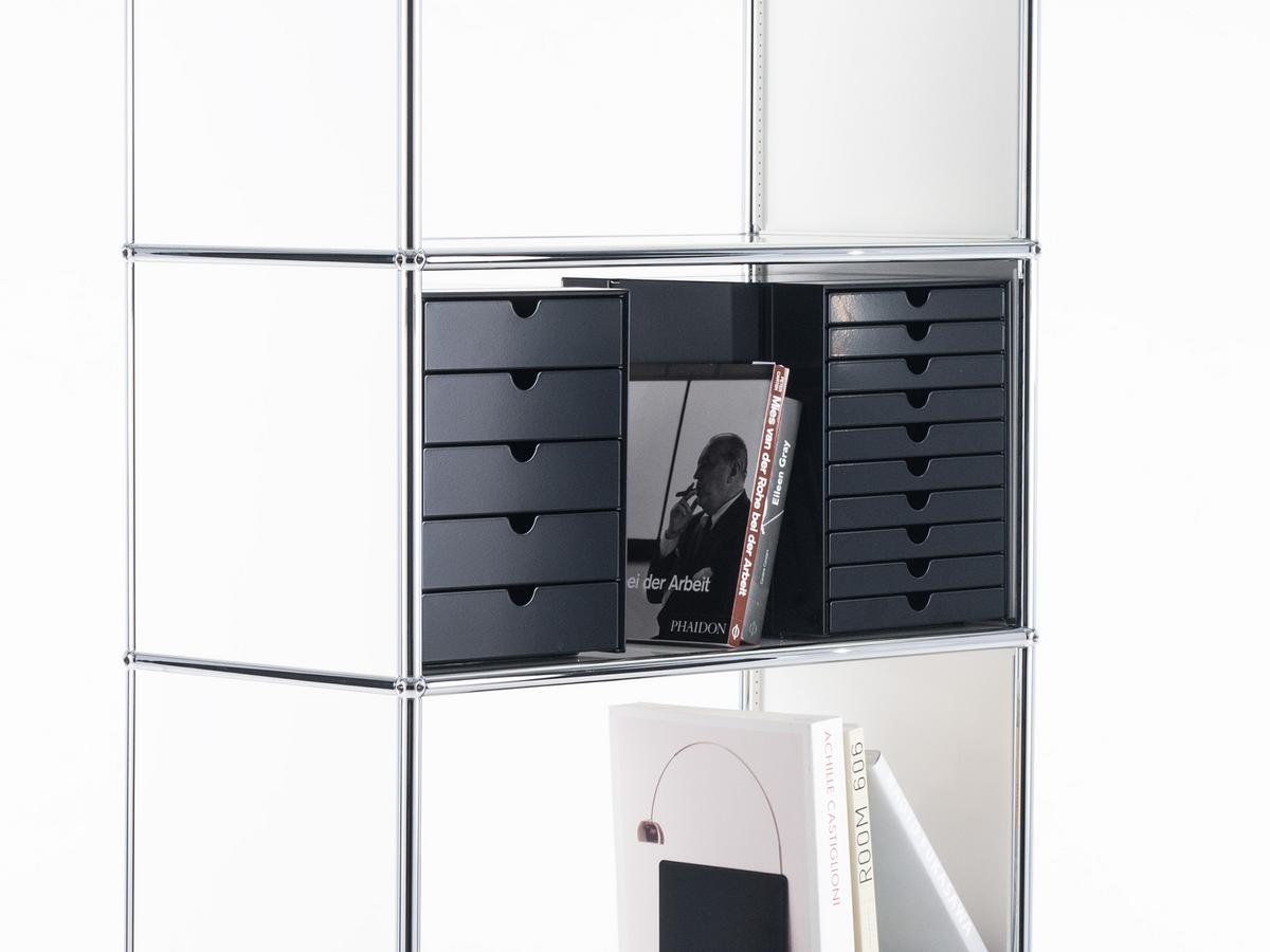usm haller usm inos box set c4 for usm haller shelves by