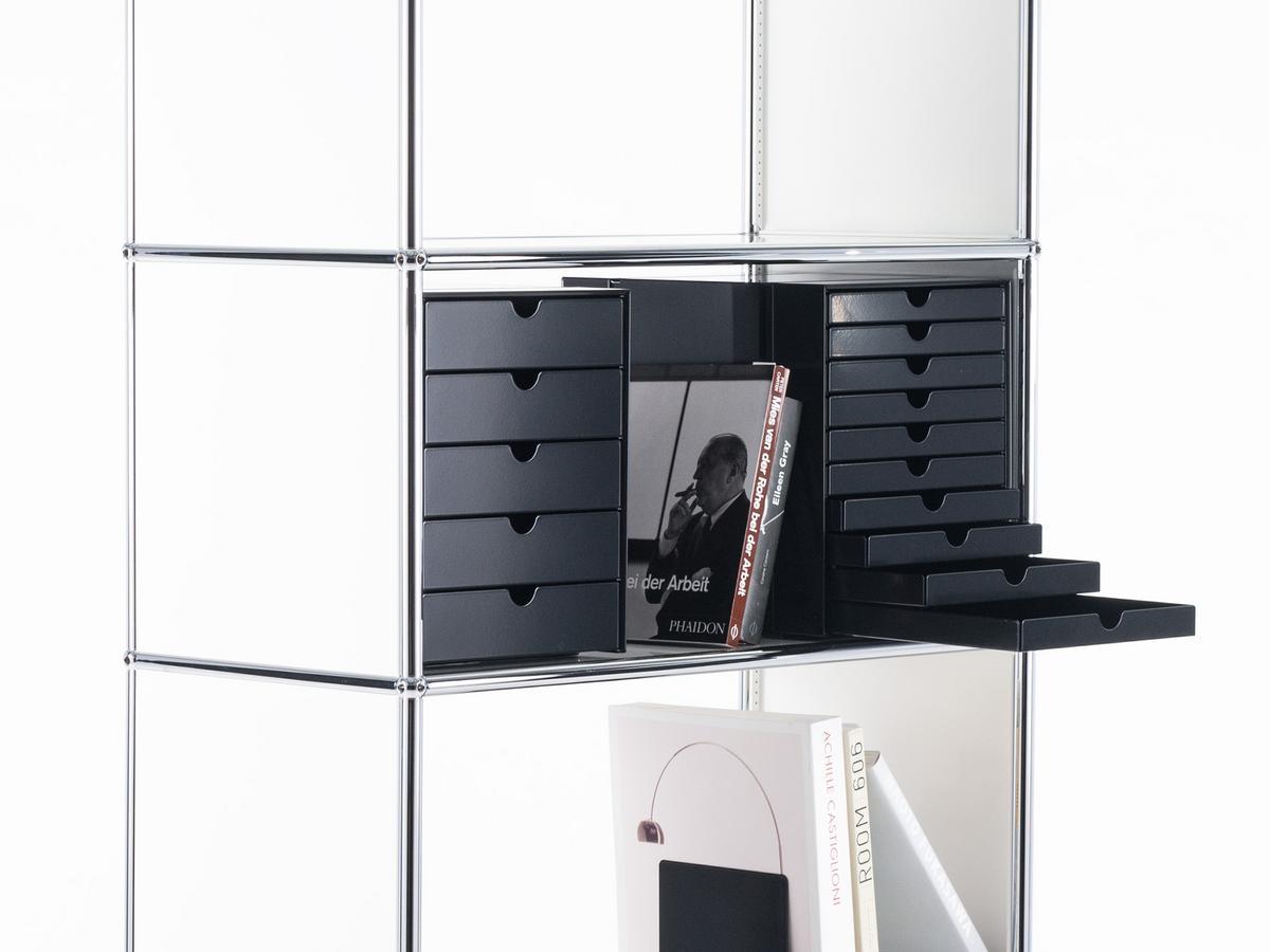 usm haller usm inos box set c4 for usm haller shelves by. Black Bedroom Furniture Sets. Home Design Ideas