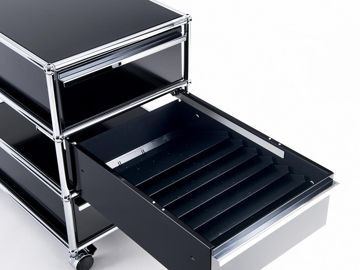 usm haller usm inos sloping trays for a6 drawers mobile. Black Bedroom Furniture Sets. Home Design Ideas
