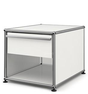 usm haller bedside table with drawer by fritz haller paul sch rer designer furniture by. Black Bedroom Furniture Sets. Home Design Ideas
