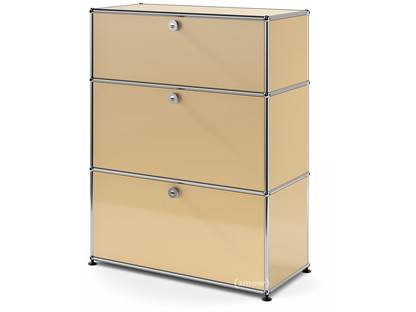 USM Haller Storage Unit with 3 Drawers