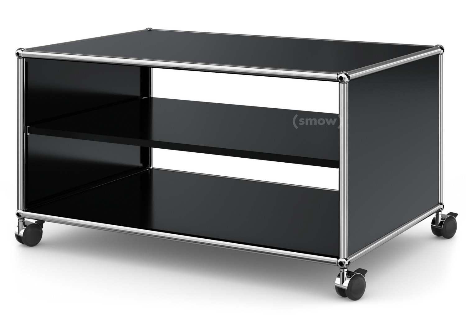 usm haller tv lowboard with castors by fritz haller paul. Black Bedroom Furniture Sets. Home Design Ideas