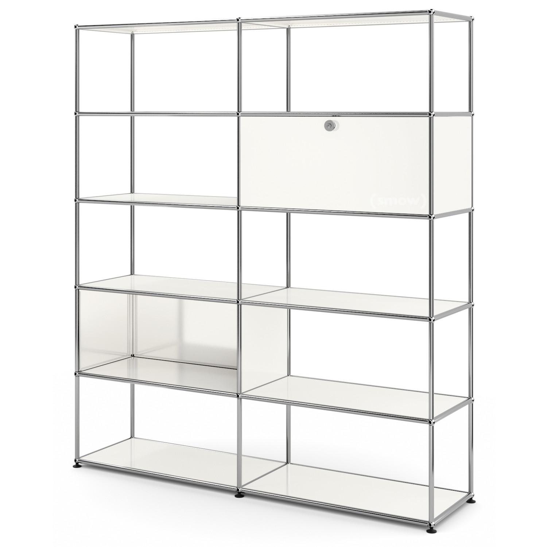 Usm Haller Living Room Shelf L Pure, Living Room Shelf Unit