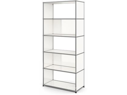 USM Haller Living Room Shelf M 2 back panels|Pure white RAL 9010