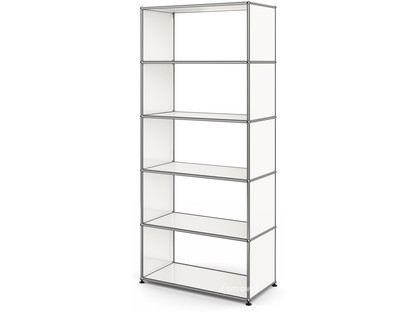 USM Haller Living Room Shelf M without back panel|Pure white RAL 9010