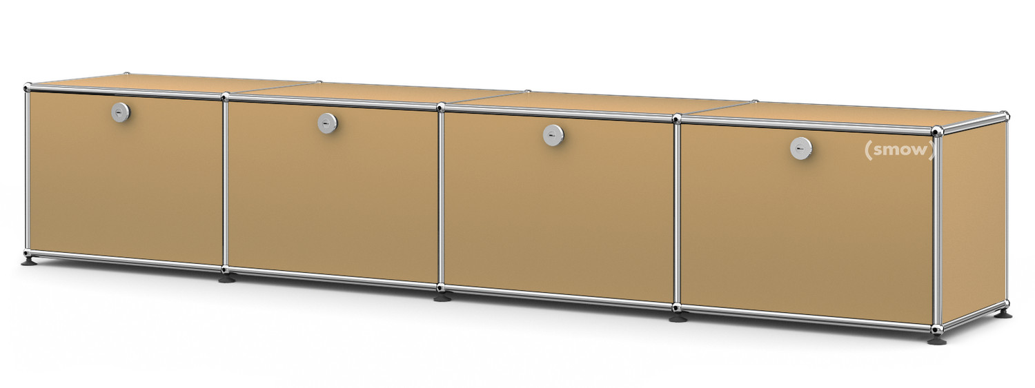 usm haller lowboard for kids usm beige by fritz haller. Black Bedroom Furniture Sets. Home Design Ideas