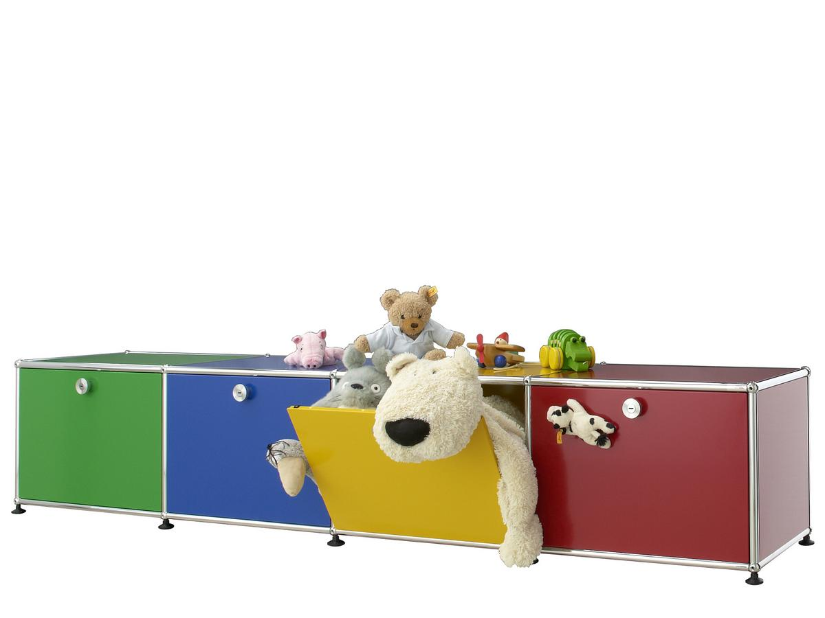 Usm Haller Lowboard For Kids Usm Beige By Fritz Haller Paul  # Solution Meuble Tv