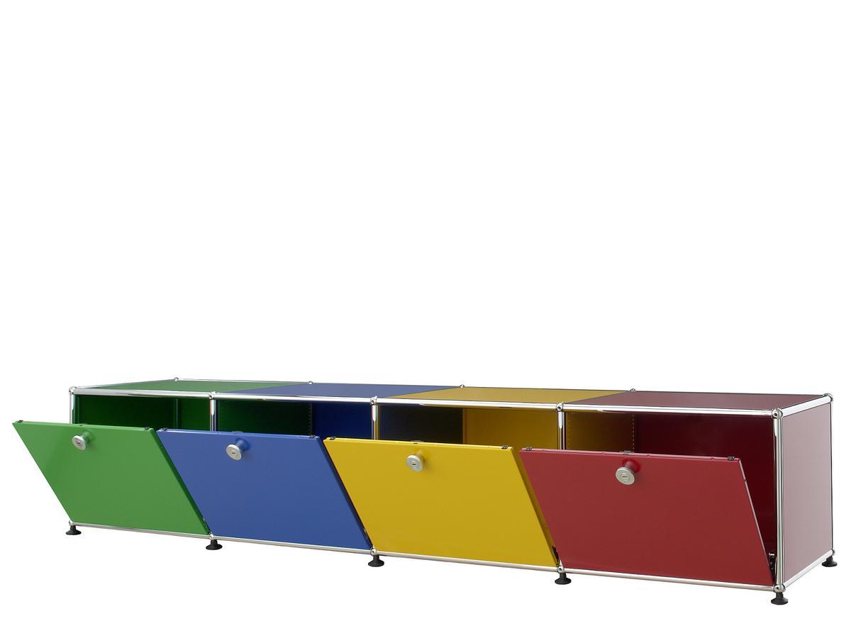 usm haller lowboard for kids by fritz haller paul. Black Bedroom Furniture Sets. Home Design Ideas