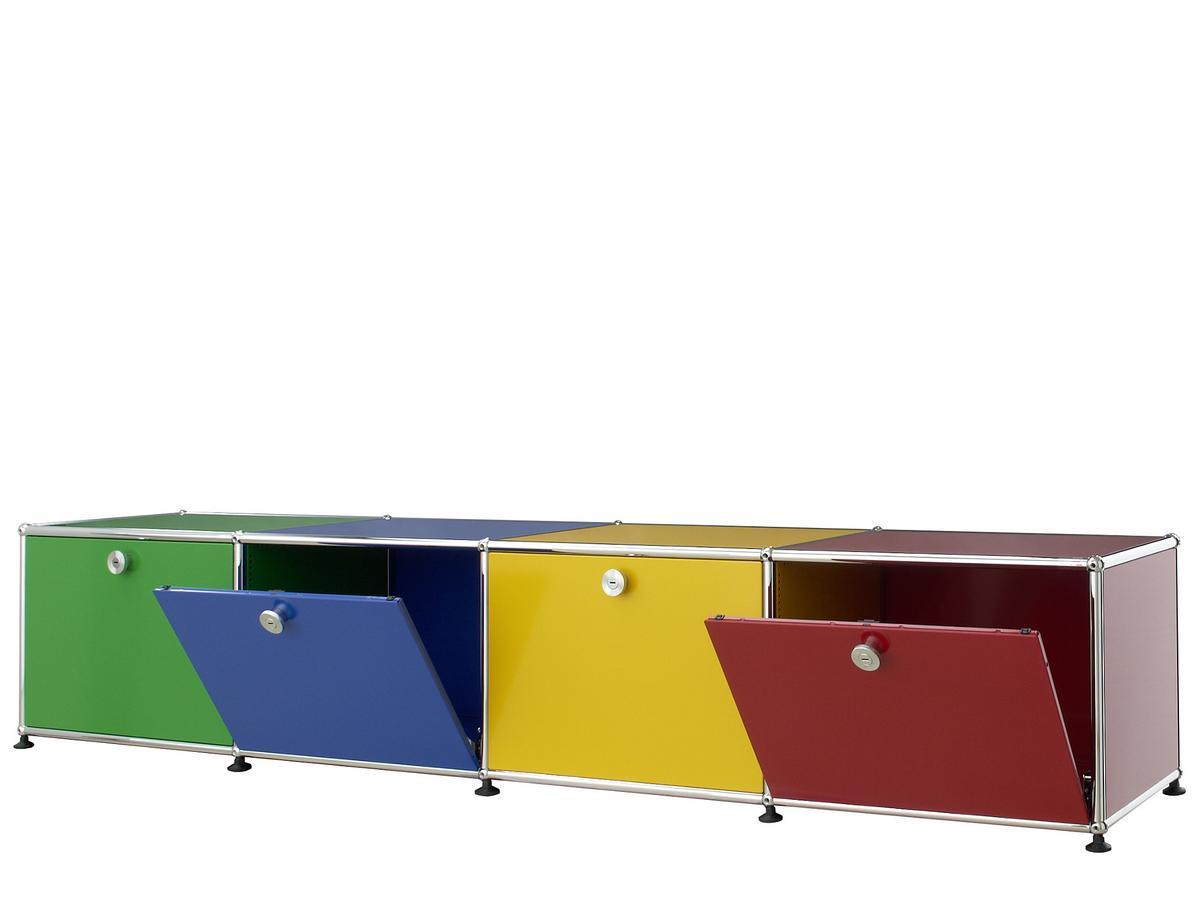 usm haller lowboard for kids by fritz haller paul sch rer designer furniture by. Black Bedroom Furniture Sets. Home Design Ideas