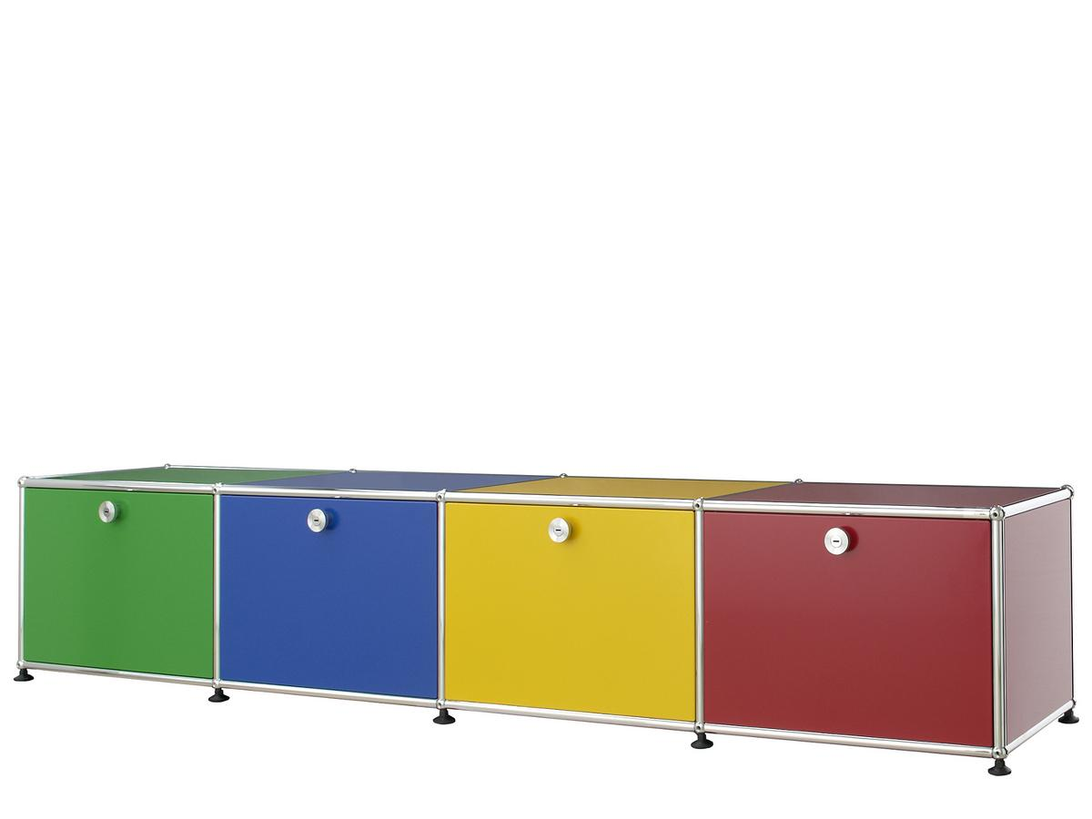 usm haller lowboard for kids by fritz haller paul. Black Bedroom Furniture Sets. Home Design Ideas