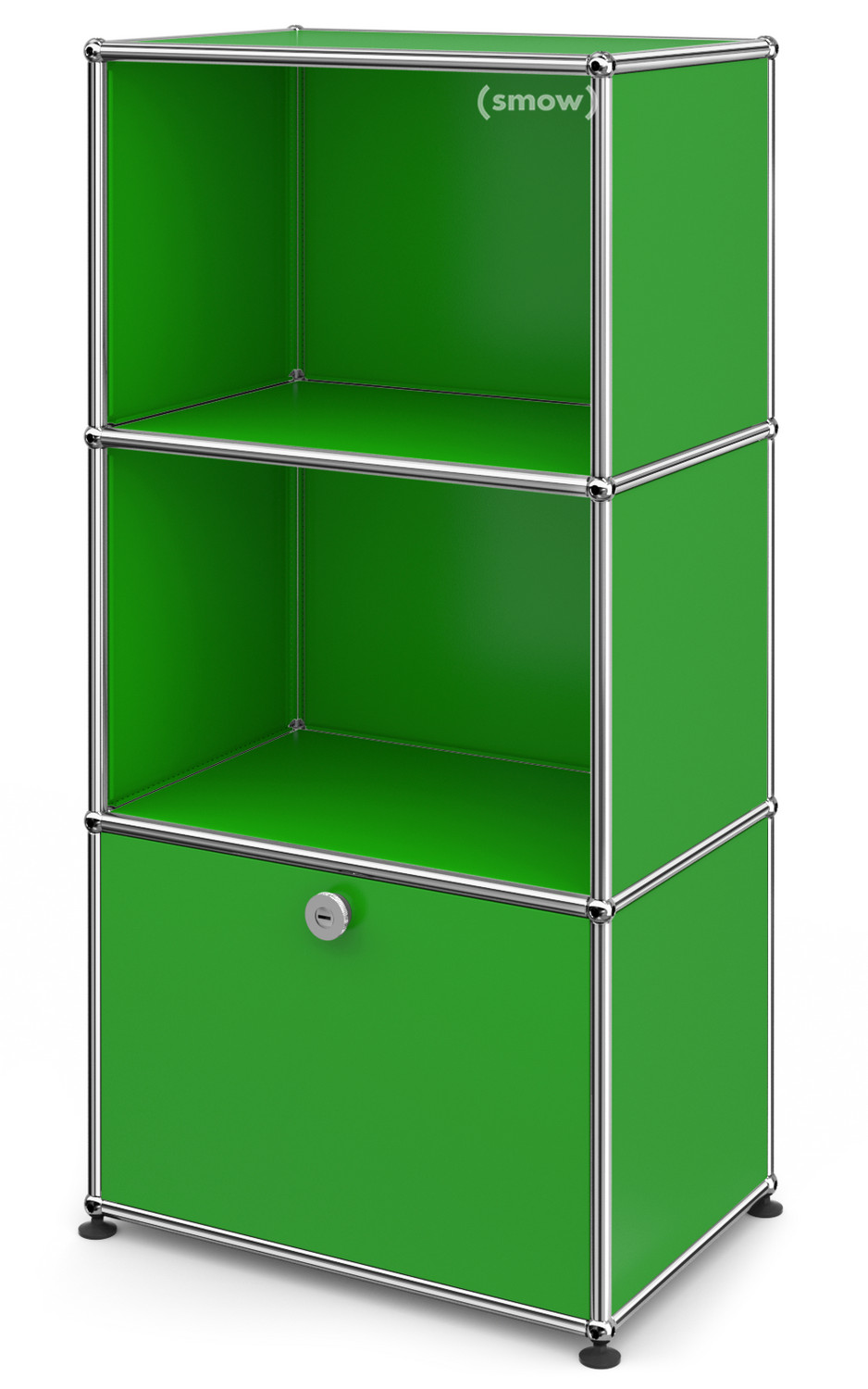 usm haller highboard for kids with 1 drop down door usm green by fritz haller paul sch rer. Black Bedroom Furniture Sets. Home Design Ideas