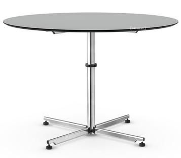 USM Kitos Circular Table Ø 110 cm|Laminate|Pastel grey