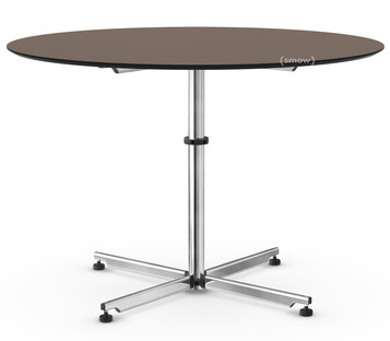 USM Kitos Circular Table Ø 110 cm|Laminate|Warm grey