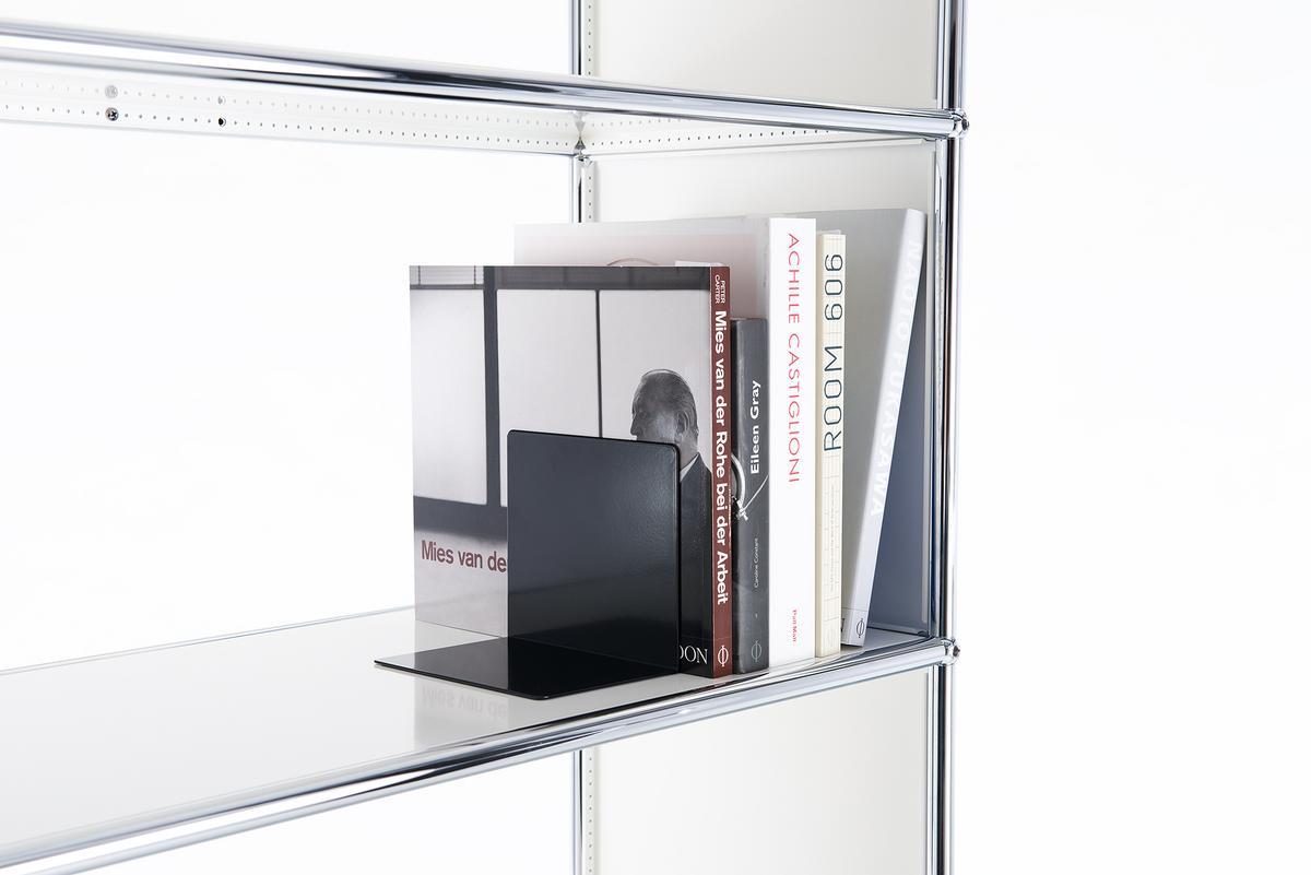 usm haller usm bookend magnetic for usm haller shelves by. Black Bedroom Furniture Sets. Home Design Ideas