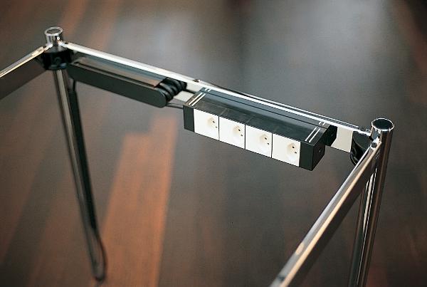 usm power outlet board for usm haller table by usm designer furniture by. Black Bedroom Furniture Sets. Home Design Ideas