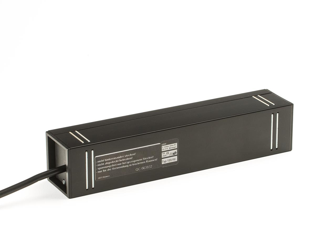 usm haller power outlet board for usm haller table by usm. Black Bedroom Furniture Sets. Home Design Ideas