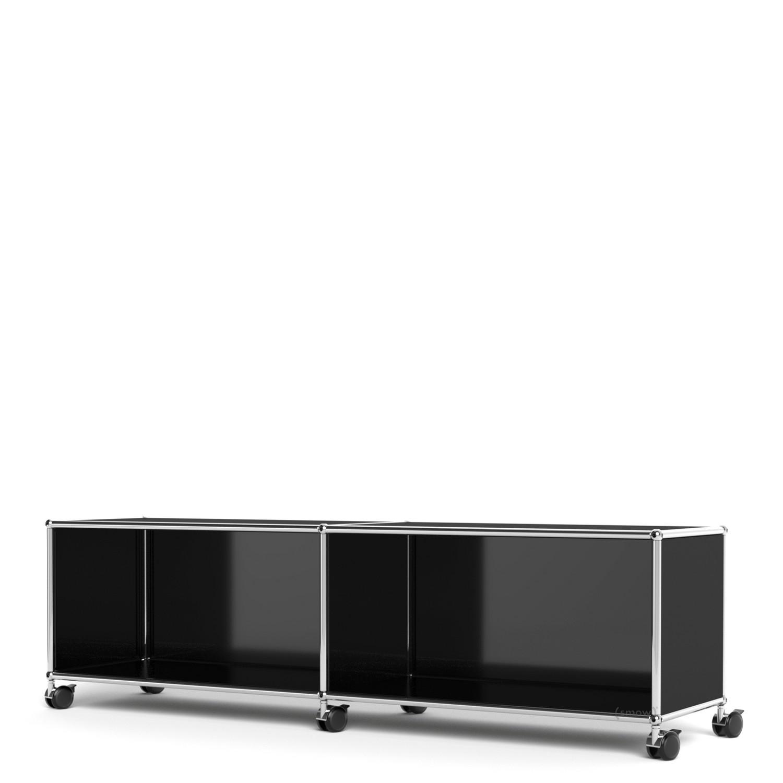 Usm Haller Tv Hi Fi Lowboard Customisable Graphite Black Ral 9011