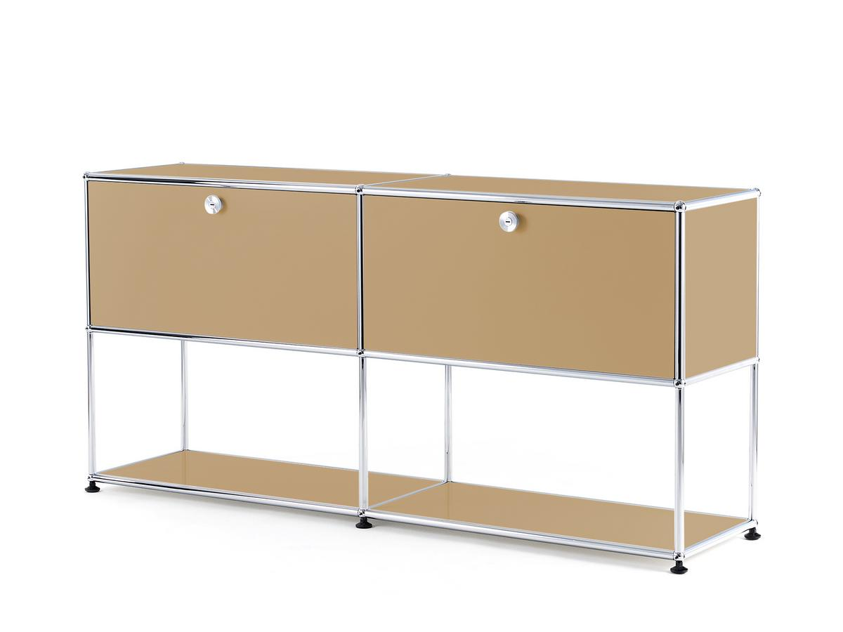 Usm Haller Sideboard L With 2 Drop Down Doors Lower Tier Structure