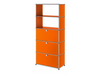 USM Haller Storage Unit with Drop-down Doors and Drawer